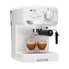 semi automatic coffee machine MC505WT, white